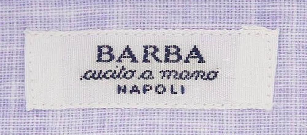Slim 14.5//37 - D2U13TB66 New $325 Barba Napoli Pink Solid Shirt