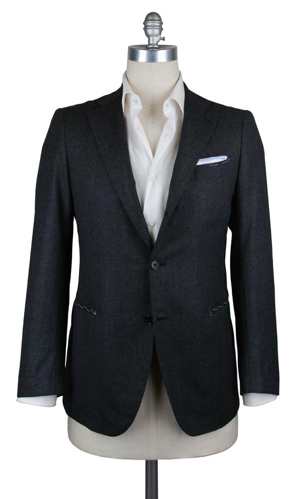 New 3900 Principe d'Eleganza grau Wool Sportcoat - (3BC135931)
